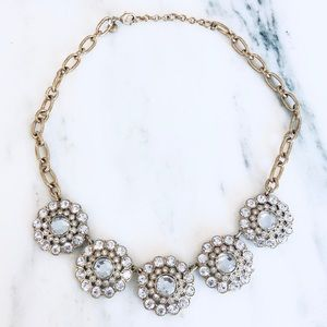 Gold J.Crew Statement Necklace
